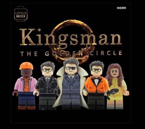 Kingsman LeYiLeBrick Custom Minifigures
