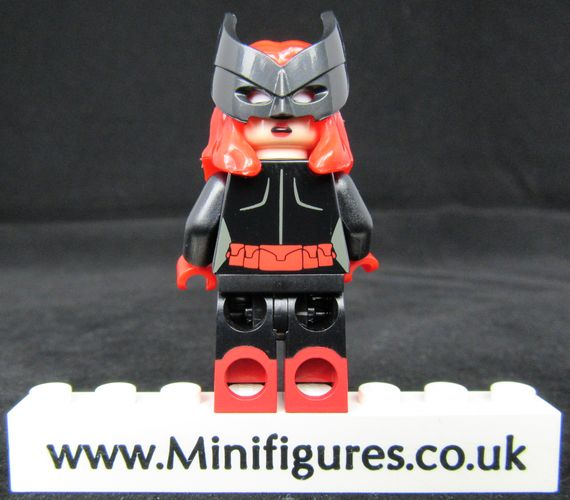 Lady Knight Custom Minifigure Back