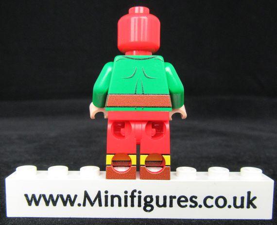 Mister Terrific LeYiLeBrick Custom Minifigure Back