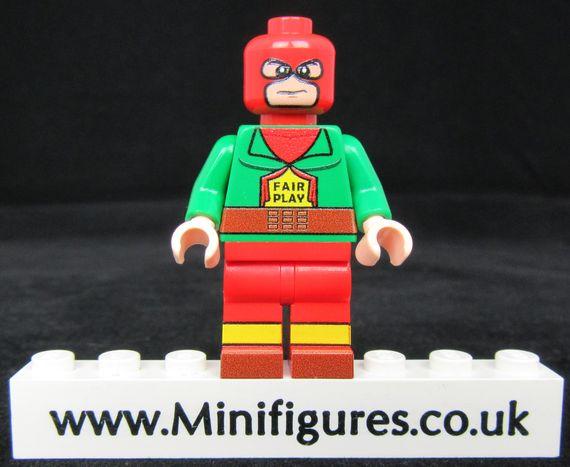 Mister Terrific LeYiLeBrick Custom Minifigure