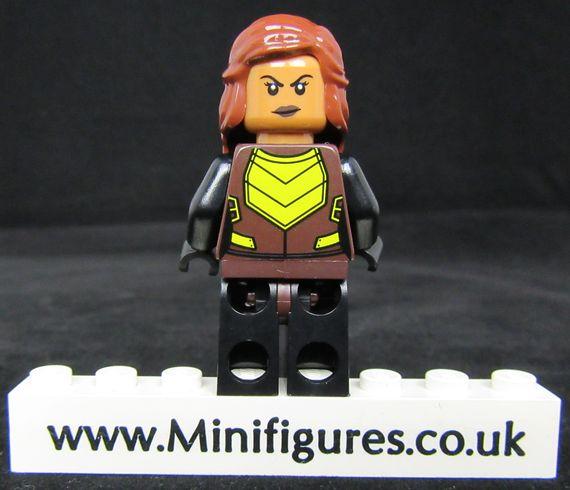 Vixen LeYiLeBrick Custom Minifigure Back