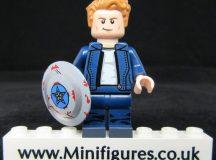 Captain America Dragon Brick Custom Minifigure