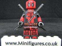 Deadpool Dragon Brick Custom Minifigure