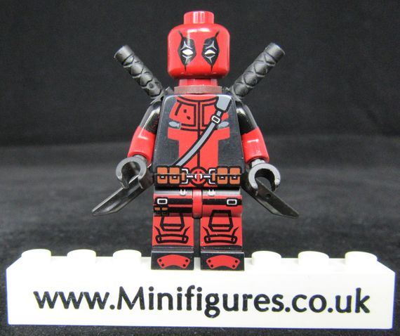 Deadpool Dragon Brick Custom Minifigure