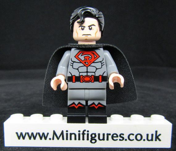 Red Son Superman LeYiLeBrick Custom Minifigure