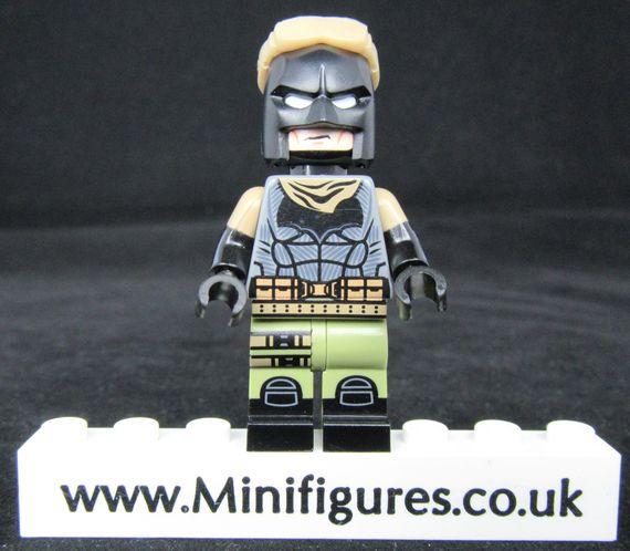 Nightmare Batman Dragon Brick Custom Minifigure