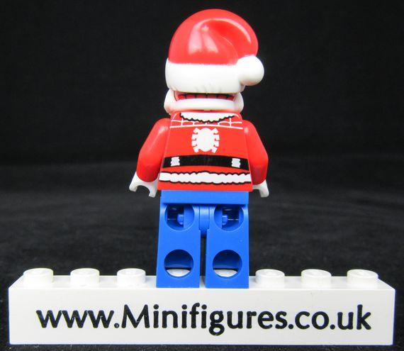 Santa Crawls Custom Minifigure