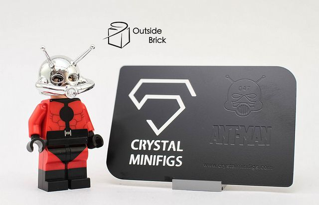 Ant Man Crystal Minifigs Custom Minifigure