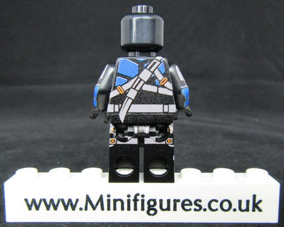 Deathstroke LeYiLeBrick Custom Minifigure