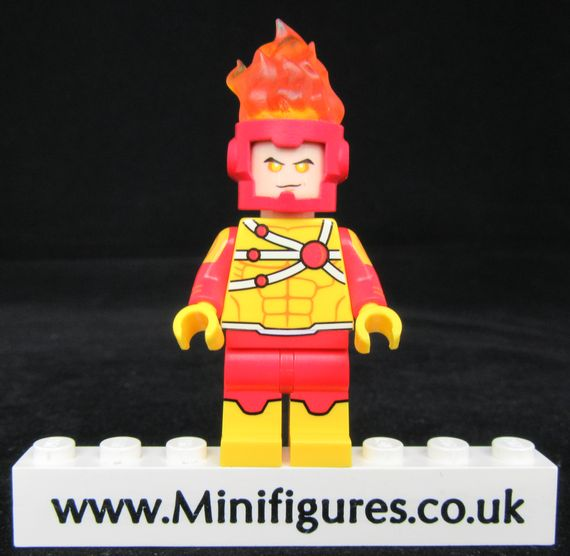 Firestorm Funny Brick Custom Minifigure