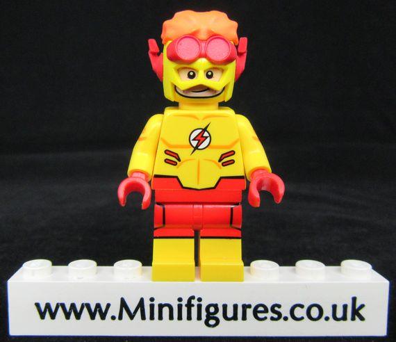 Kid Flash Funny Brick Custom Minifigure