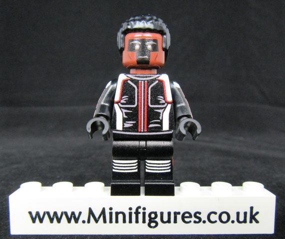 Mister Terrific V2 LeYiLeBrick Custom Minifigure