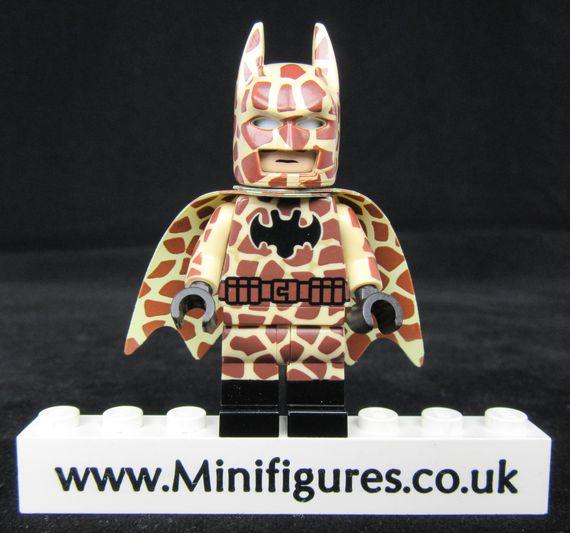 Batman Giraffe Dragon Brick Custom Minifigure