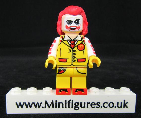 McDonald Joker Dragon Brick Custom Minifigure