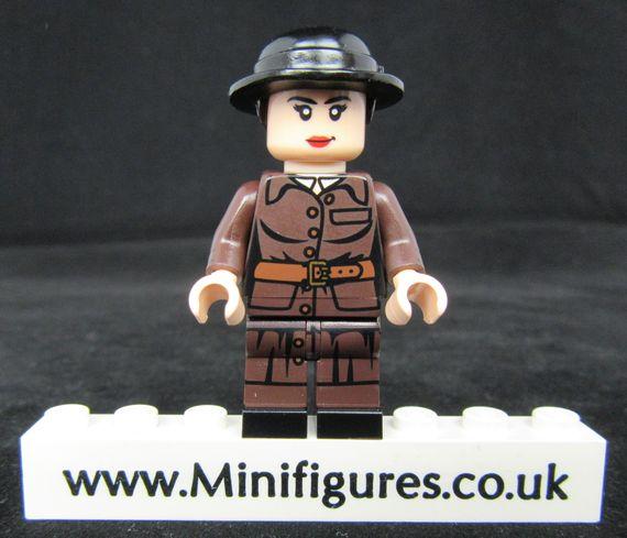 Wonder Woman Suit Dragon Brick Custom Minifigure