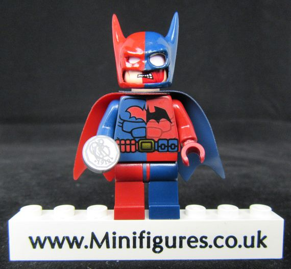 Two Face Batman UG Custom Minifigure