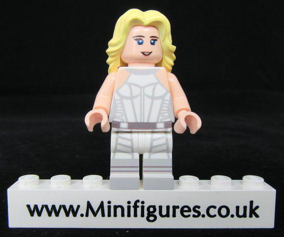 White Canary LeYiLeBrick Custom Minifigure