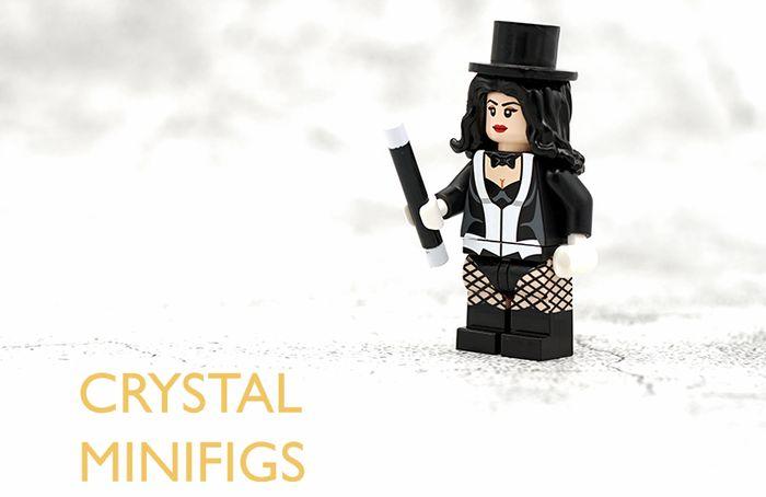 Zatanna Crystal Minifigs Custom Minifigure