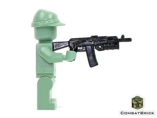 CombatBrick AK-74 With Grenade Launcher