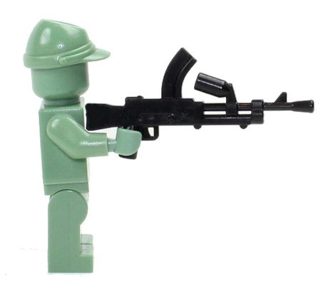CombatBrick WWII British Bren Light Machine Gun