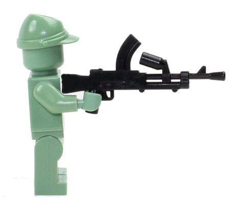 CombatBrick WWII British Bren Light Machine Gun