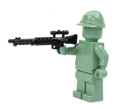 CombatBrick WWII German Paratrooper FG-42 Battle Rifle