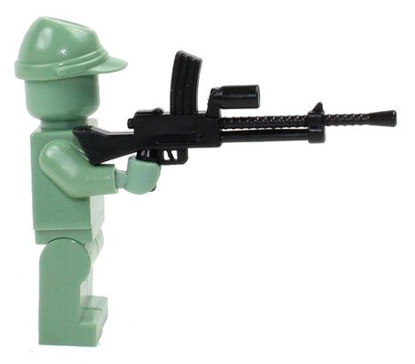CombatBrick WWII Type-99 Japanese Machine Gun