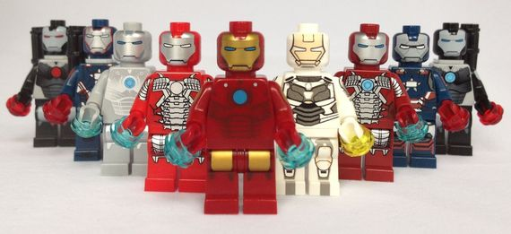 Christo & Minifigs4U Iron Man Custom Minifigures Video Review