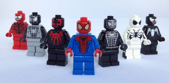 Christo Spider-Man Custom Minifigures Video Review