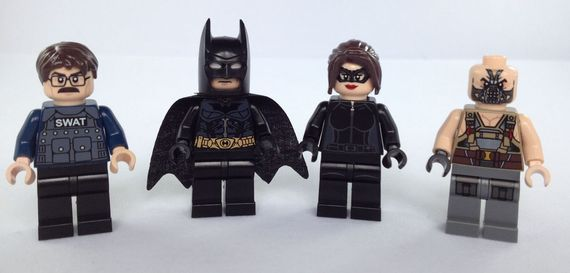 Christo The Dark Knight Rises Custom Minifigure Review