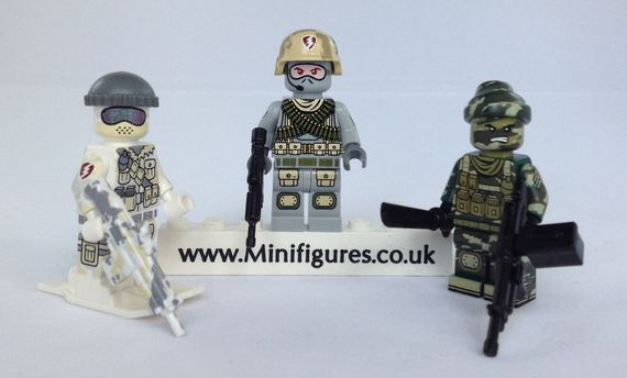 Citizen Brick Commando Series Custom Minifigure Video Review
