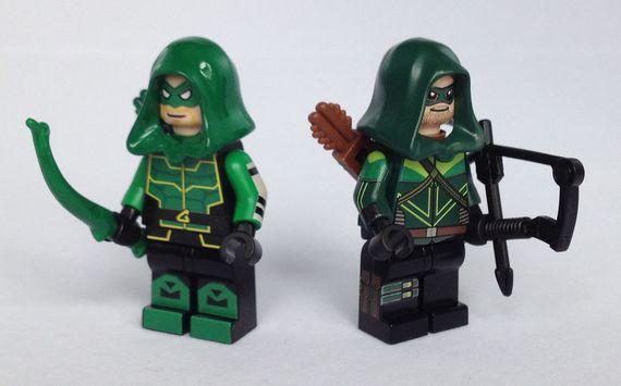 Green Arrow Custom Minifigures Video Review