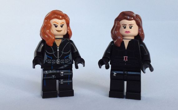 LEGO Black Widow Comparison Video Review
