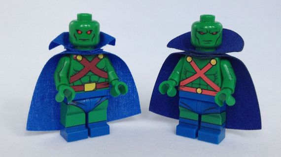 Martian Manhunter Custom Minifigure Review