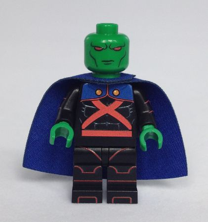Mr Martian Black Suit eclipseGrafx Custom Minifigure