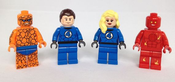 The Fantastic 4 Custom Minifigures