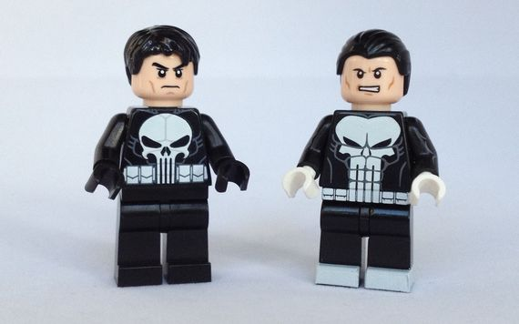 The Punisher Custom Minifigures Video Review