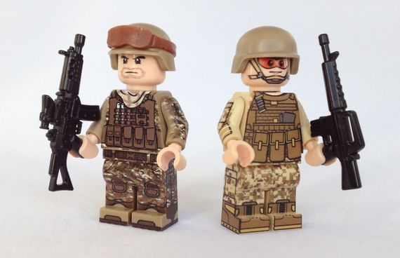 USA Marine Custom Minifigure Comparison Video Review