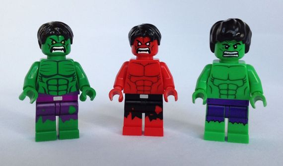 LEGO Hulk Minifigure Comparison Video Review