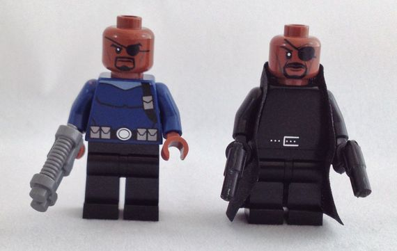 LEGO Marvel Avengers Nick Fury Minifigure Video Review