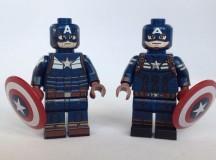 Captain America Custom Minifigure Comparison Review