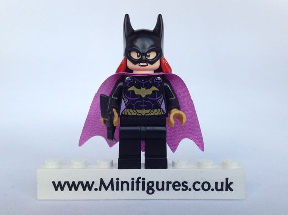 LEGO DC Comics Super Heroes Batgirl Minifigure Video Review