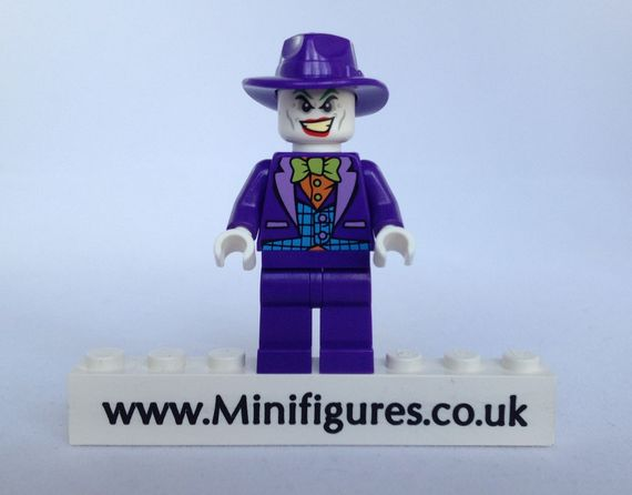 LEGO DC Comics Super Heroes Joker 2014 Minifigure Video Review