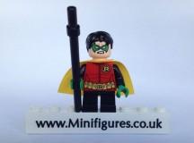 LEGO DC Comics Super Heroes Robin Damian Wayne Minifigure Video Review