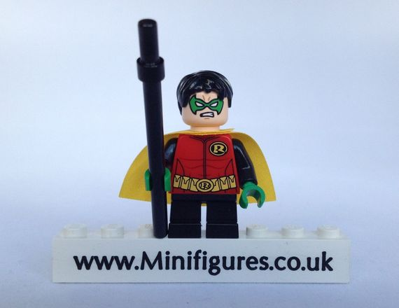 LEGO DC Comics Super Heroes Robin Damian Wayne Minifigure Video Review
