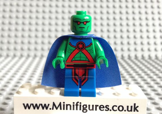 LEGO DC Comics Super Heroes Martian Manhunter Video Review