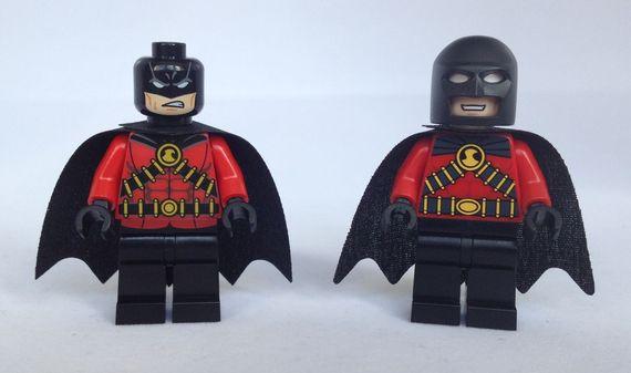 Red Robin Custom Minifigure Comparison Review