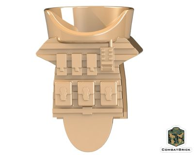 CombatBrick Juggernaut Body Armor Dark Tan