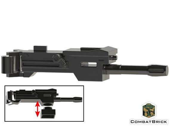 CombatBrick Mk19 Automatic Grenade Launcher Black