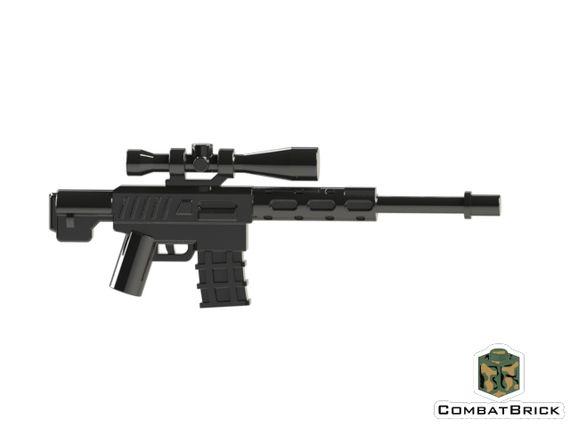 CombatBrick Semi-Automatic Sniper Rifle REAPER